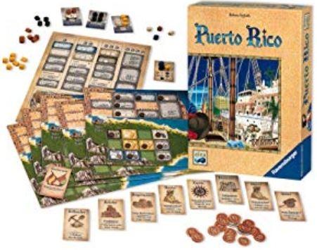 木曜重量級ゲーム会:プエルトリコ(Puerto Rico)